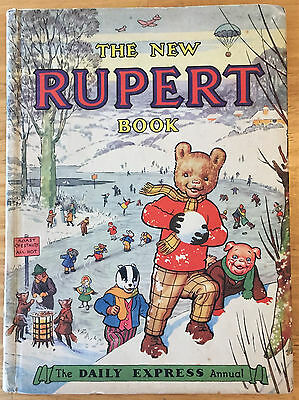 RUPERT ORIGINAL ANNUAL 1951 Not inscribed Not Price-clipped VG