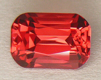 **certified Natural** Flawless Clarity Finest Aaaaa Flame Red M'gok Spinel