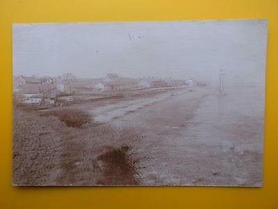 Houses & Lighthouse RAMPSIDE Nr Barrow in Furness Cumbria *Vintage* RP 1904