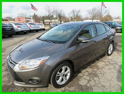 2014 Ford Focus SE 2014 SE Used 2L I4 16V Automatic FWD Sedan clean clear title carfax one owner we