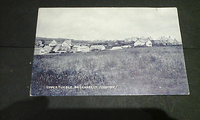 Carmarthenshire:Upper Tumble near Llanelly, 1915 printed postcard.