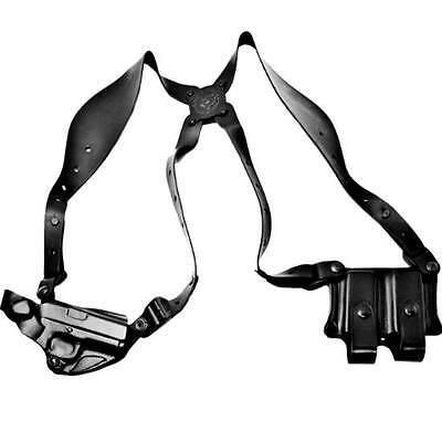 Desantis 11D New York Undercover Shoulder Holster Right Hand Black 1911 Leather