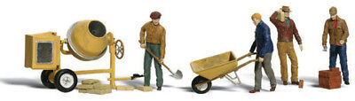 Woodland Scenics N Scale Scenic Accents Figures/People Set Masonry Workers (4)