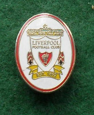 Liverpool Football Club Crest Metal Pin Badge