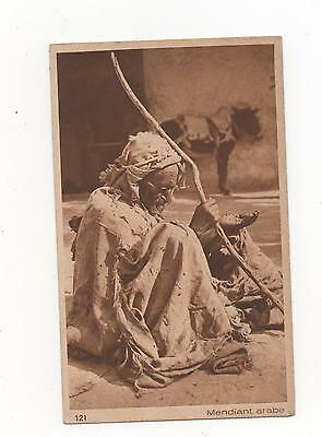 Arab Mendiant Beggar In Traditional Costume,PPC L&L