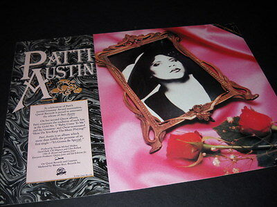 PATTI AUSTIN her 2nd Grammy Award nomination 1984 PROMO POSTER AD mint cond