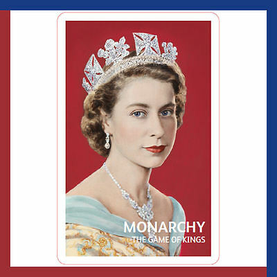 Christmas Stocking Filler,Queen Elizabeth Edition Monarchy Card Pack,Family Game