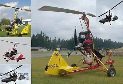 Honeybee Gyrocopter Experimental Aircraft - Plans On Cd - K2Ne Web Store