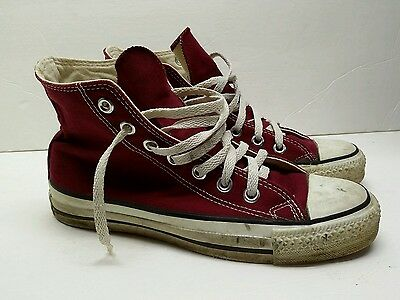 VTG Converse Chuck Taylor All Star Made In USA  Mens Size 5 1/2 / top 7.5 womens