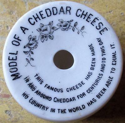 Model Of A Cheddar Cheese Matching Arms Cheddar Crested China