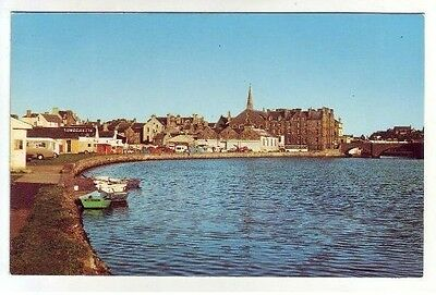 Wick Caithness Camping Site 1960's Photo Precision Old Postcard Postally Unused