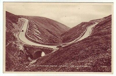 Winding Road At Ord Of Caithness Photo 1935 Published 1956 Valentines A3161
