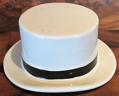 Vintage Moss Bros Convent Garden China Advertising Top Hat