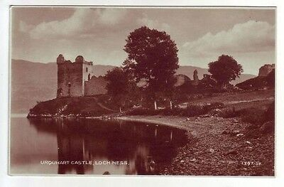 Urquhart Castle Loch Ness Inverness Real Photograph Registered 1878 Pub. 1932