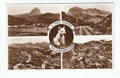 Lochinver Suilven River Inver Sutherland 1936 Real Photograph Valentines A3706