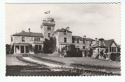 Burghfield House Hotel Dornoch 1935 Real Photograph Watson Bertie Rd Kenilworth