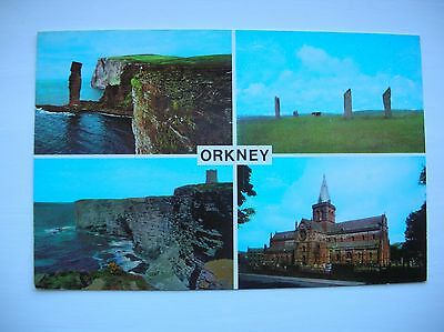 Orkney. Old Man of Hoy, Stenness, Marwick Head, Kirkwall etc. (1970s)