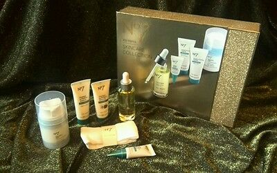 NEW No7 SKINCARE COLLECTION Protect & Perfect Intense advance GIFT SET pamper