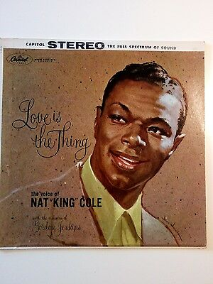 Nat King Cole Love is the thing Columbia SW 824