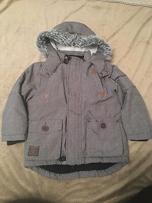 boys parker style winter coat size 2-3 years