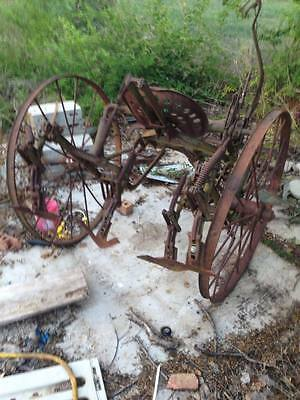 ANTIQUE PLOW HORSE DRAWN McCORMICK DEERING