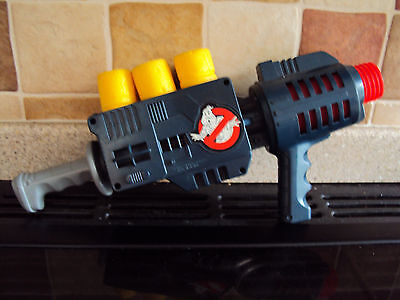 Vintage Ghostbusters Proton Gun 6 Poppers Kenner