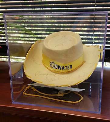Rare Ronald Reagan Barry Goldwater Signed Cowboy Hat