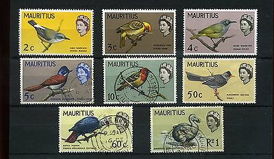 Mauritius.8 -- Mounted Mint/ Fine Used Qe2 1965 Stamps On S/card