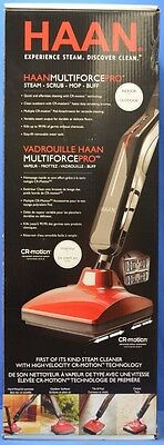 NEW Haan Multiforce Pro SS-25 Steam Cleaner Mop CR-Motion Technology