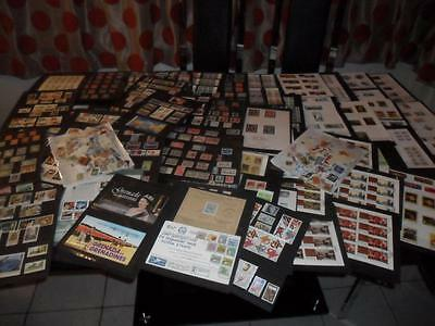 WORLD & Br.C/WEALTH  COLLECTION OF STAMPS OFF PAPER KILOWARE (1000+)+ M/SHEETS.