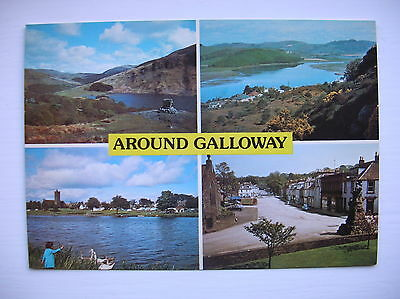 Galloway -- Kippford, Kirkcudbright, Castle Douglas etc.  (J Arthur Dixon)