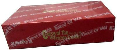 CURSE OF THE FROZEN CASKET Booster Box (Force of Will) Factory Sealed NEW