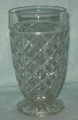 Anchor Hocking Waterford Waffle Tumbler