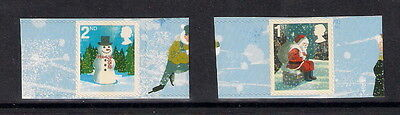 Gb 2006 Christmas Smilers Stamp Pair For Lighthouse Album Mnh