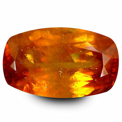 3.605Cts Resplendent Top Luster Yellow Natural Oval Cushion Loose Gemstones
