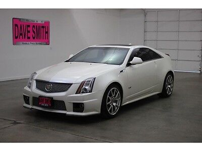 2011 Cadillac CTS V Coupe 2-Door 11 Cadillac CTS-V Auto Sunroof Heated Seats Remote Start Navigation Capable