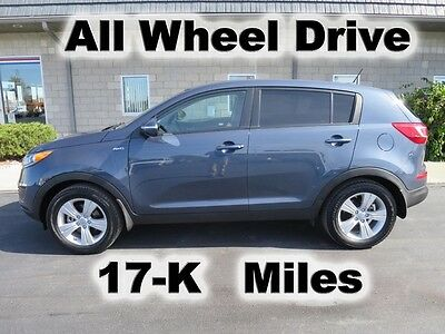 2013 Kia Sportage LX PORTAGE LX  POWER PKG AWD ALL WHEEL DRIVE SUV MP3 SAT SIRIUS 17-K LOW MILES