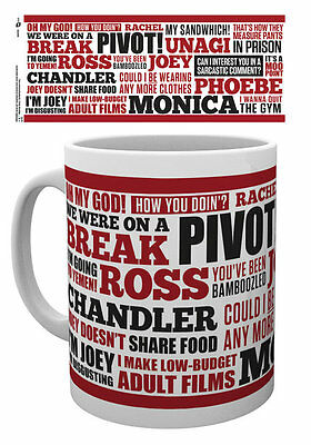FRIENDS Mug - FRIENDS QUOTES Mug - Official Licensed ceramic mug MG0978