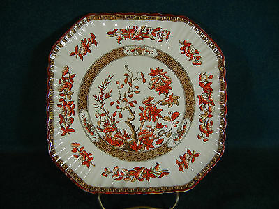 Copeland Spode Indian India Tree Old Mark Square Luncheon Plate(s)