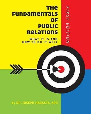 NEW The Fundamentals Of Public Relations by... BOOK (Paperback / softback)