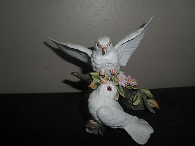 Lefton Fine China Doves On Branch #03831-1983