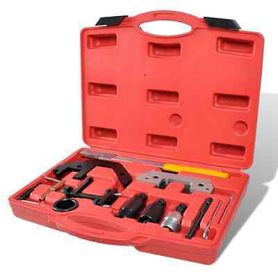 New 13pc Diesel Engine Timing Tool Kit Valve Camshaft Hydraulic Chain Tensioner