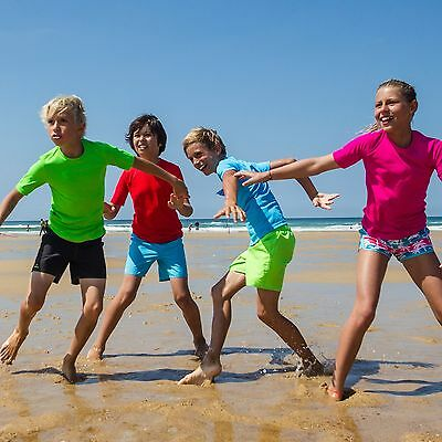 Childrens/junior Sun Uv Protection Factor 50+ Pro Filter Water Tshirt/top.
