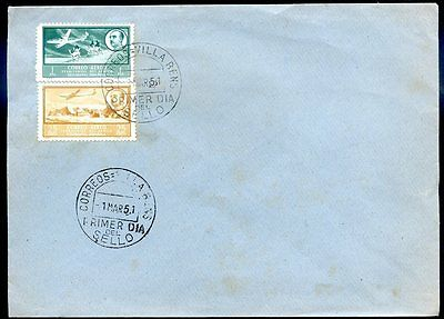 Spain West Africa Fdc 1951