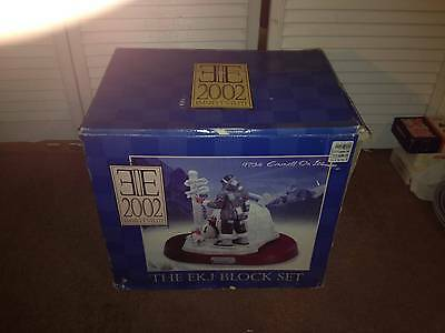 2002 Emmett's Elite, The Ekj Block Set- 9734 Emmett On Ice   <<<Mib