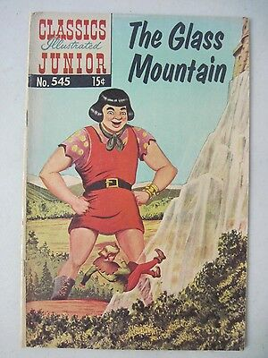 Classics Illustrated Junior #545 Hrn 576 December 1964 The Glass Mountain