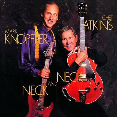 Chet Atkins And Mark Knopfler Neck And Neck Lp Vinyl 33Rpm New
