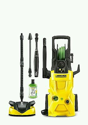 Brand New Kärcher K4 Premium Eco Home Water-Cooled Pressure Jet Washer Patio