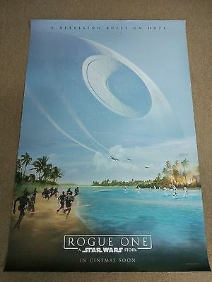 Rogue One: A Star Wars Story 2016 Original 27x40 DS Int'l Movie Poster A