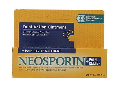Neosporin + Pain Relief Ointment, 1 Oz, New